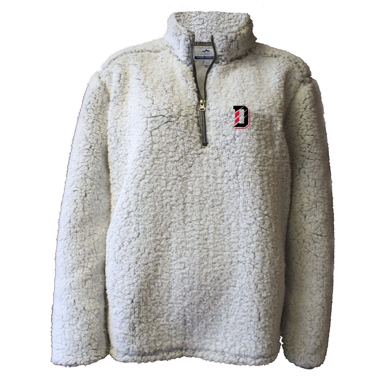 Image For Youth Jacket 1/4 Zip Sherpa - D Over Davidson