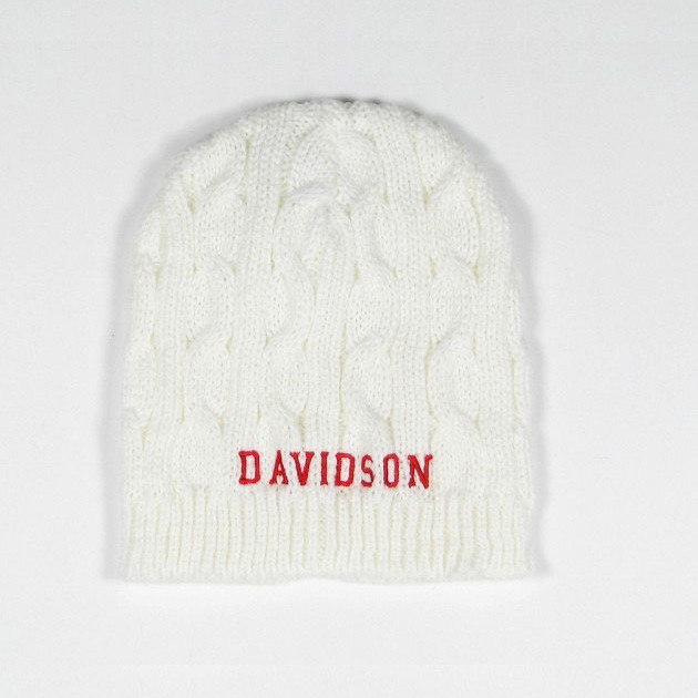 Image For Women's Cable Knit Beanie - Natural - Davidson