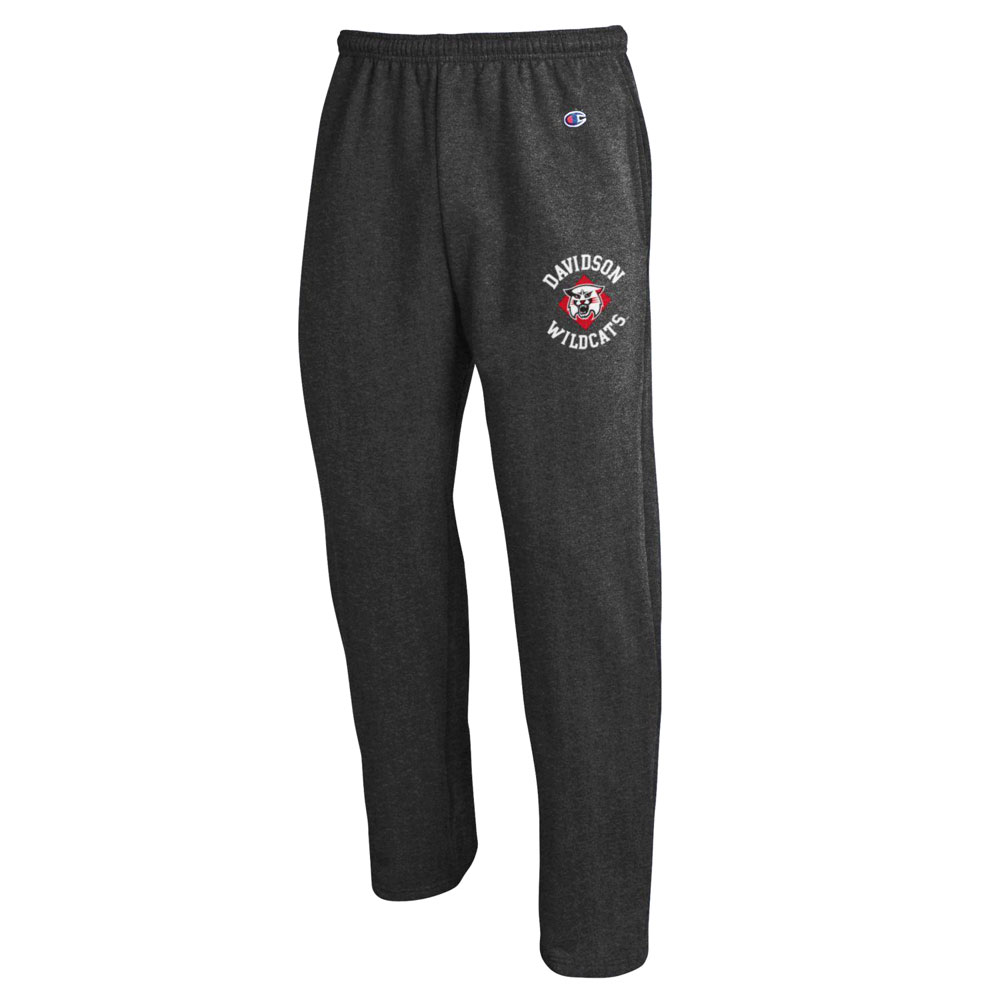 Image For Pants Open Bottom - Granite Heather - Davidson Over Wildcat