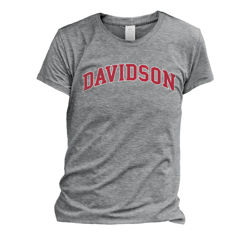 Image For WOMEN'S TEE - OXFORD - DAVIDSON ARCHED