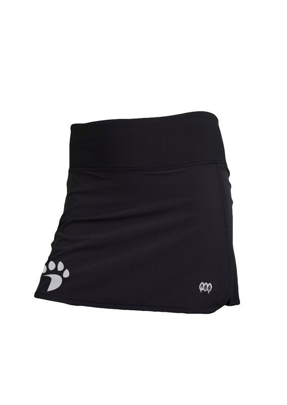 Image For Women's Skirt - Black - Paw Logo