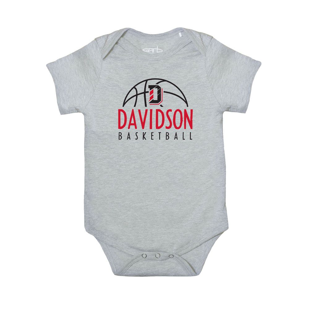 Image For Infant Onesie - Oxford - Davidson Basketball