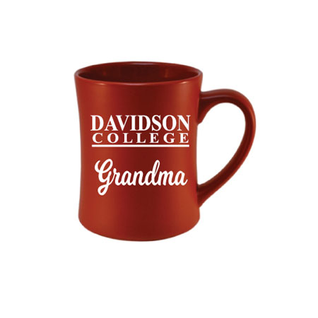 Image For Mug - Etched Red - Davidson Grandma