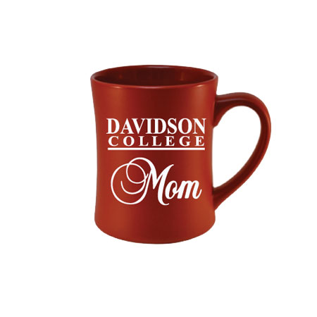 Image For Mug - Etched Red - Davidson Mom