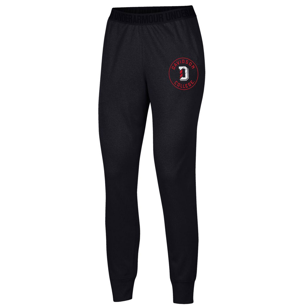 Image For Women's - Play Up Pant - Black - D Logo