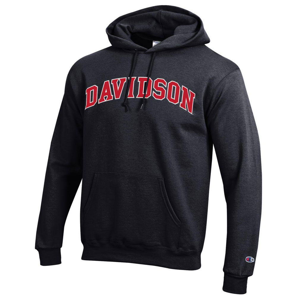 Image For Sweatshirt Hood - Black - Davidson Arched