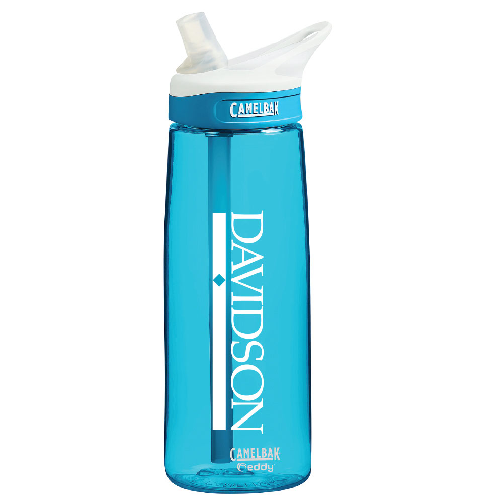 Image For Bottle Camelbak Eddy Blue With Straw