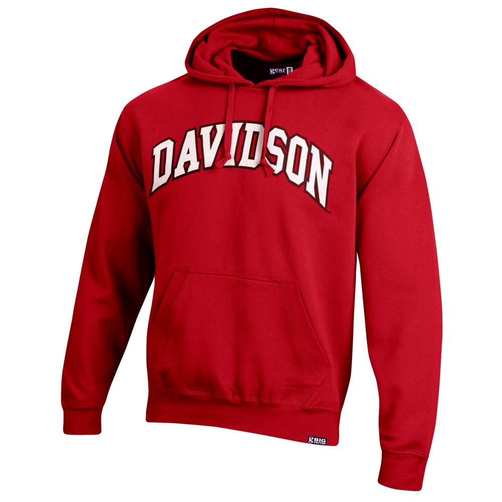 Image For Sweatshirt Hood - Red - Davidson Applique