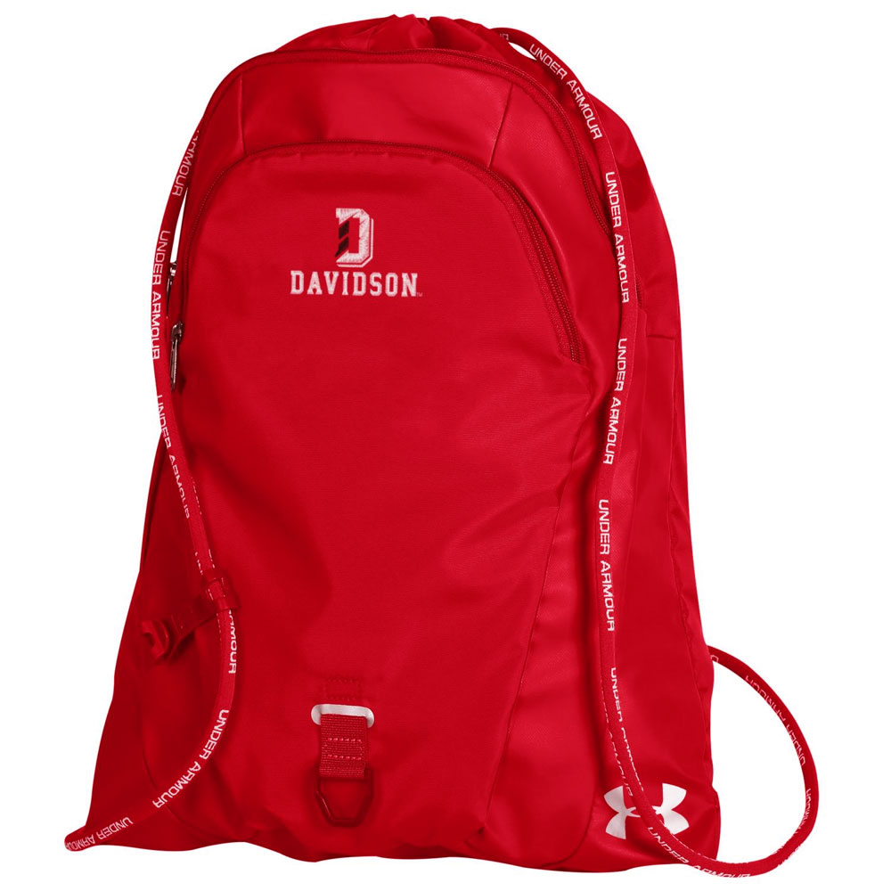 Image For Undeniable Sackpack - Red - D Over Davidson