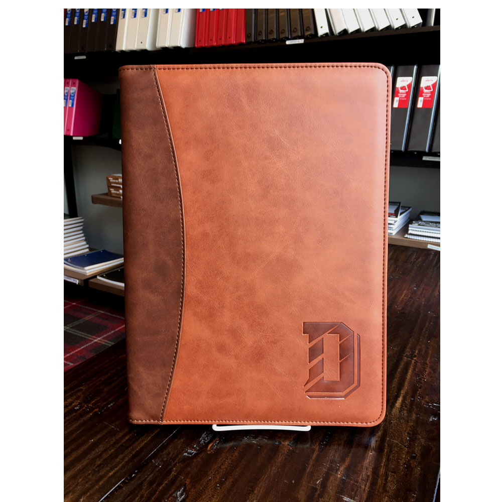 Image For Pad Holder - Brown/Tan - D Logo