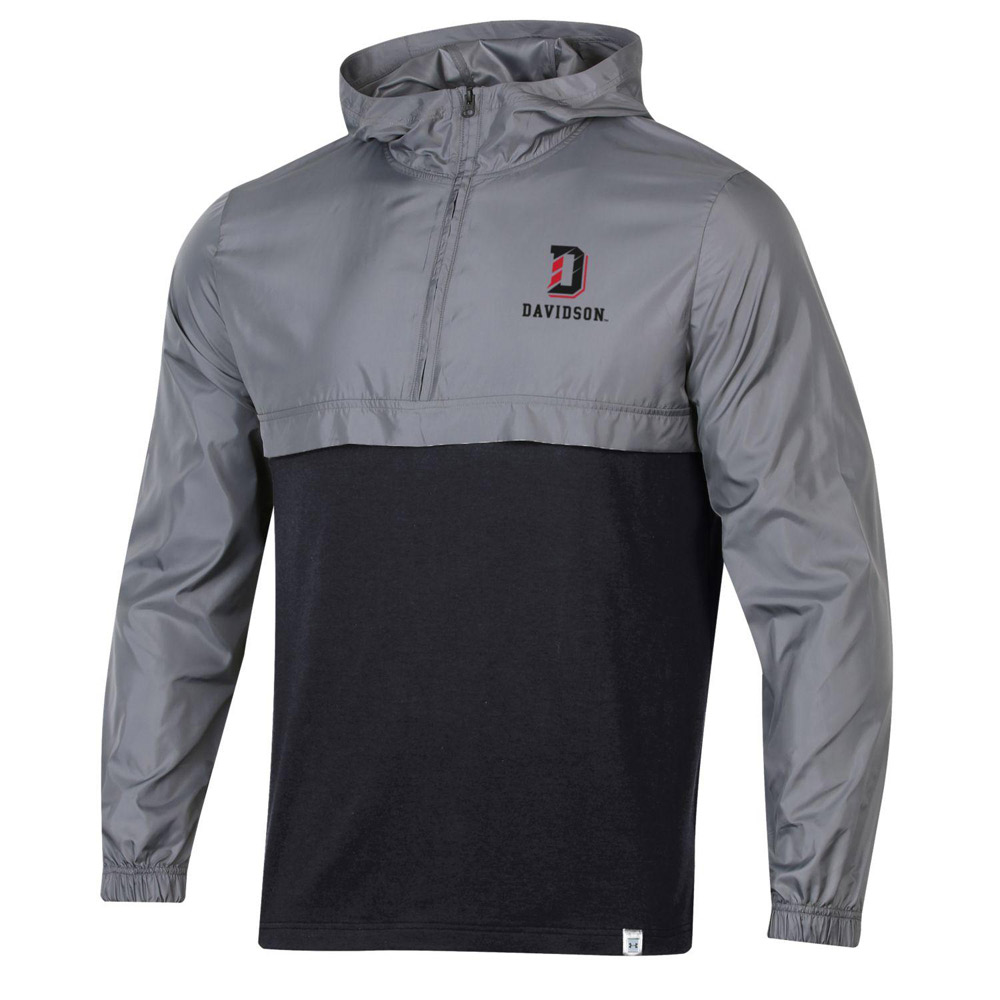 Cover Image For 1/4 Zip Jacket - Grey/Black