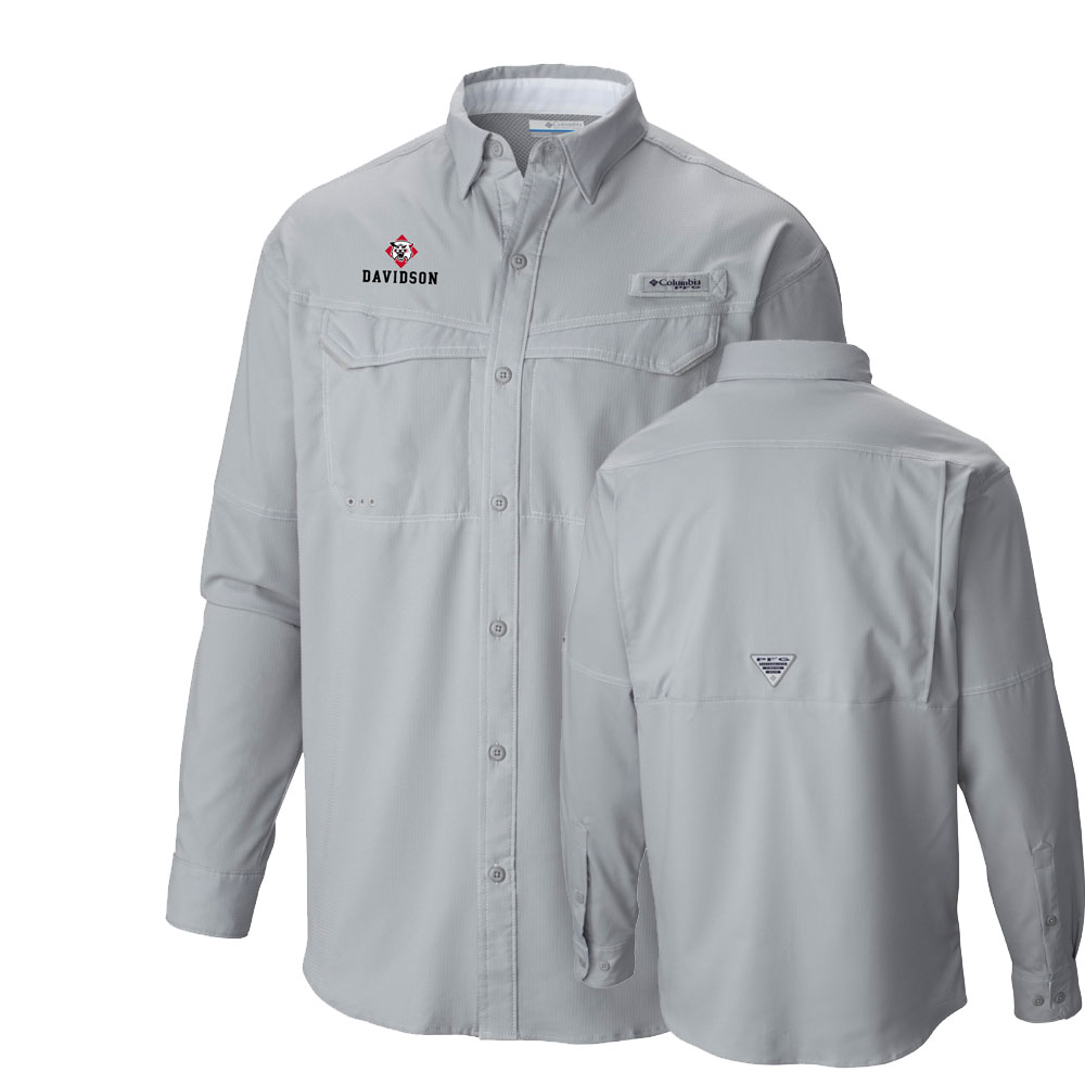 Image For Long Sleeve Shirt - Low Drag Offshore - Cool Grey - Wildcat