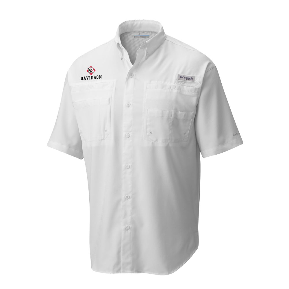 Cover Image For Short Sleeve Shirt - White - Tamiami - Wildcat