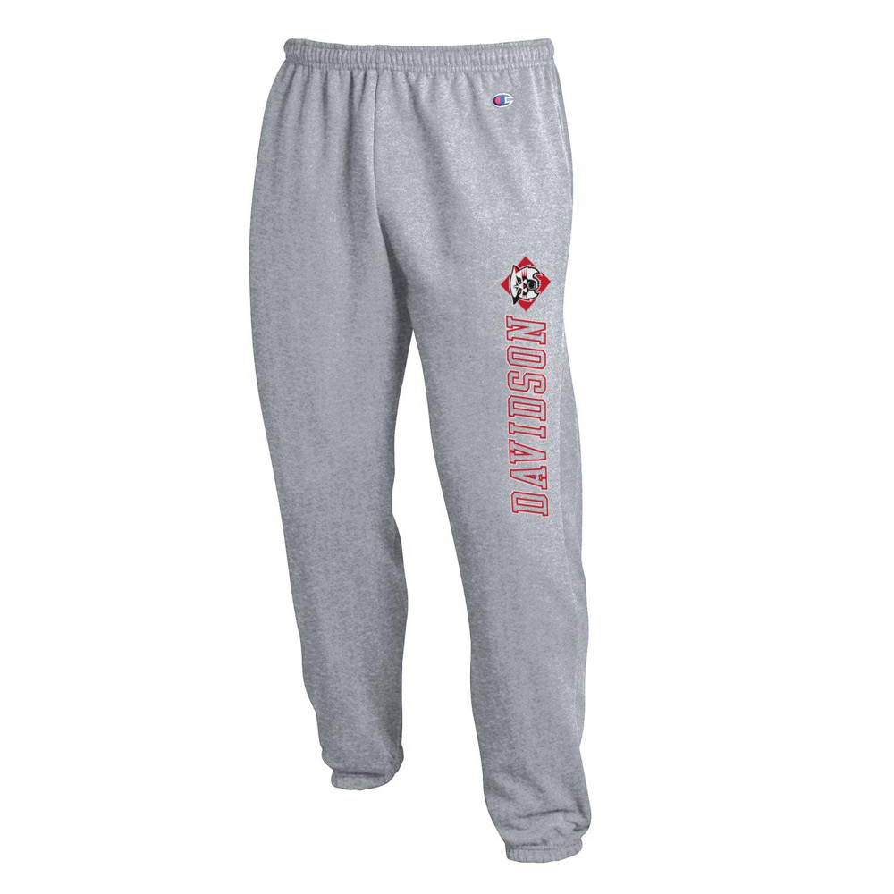 Image For Pants Powerblend  Banded - Grey Heather