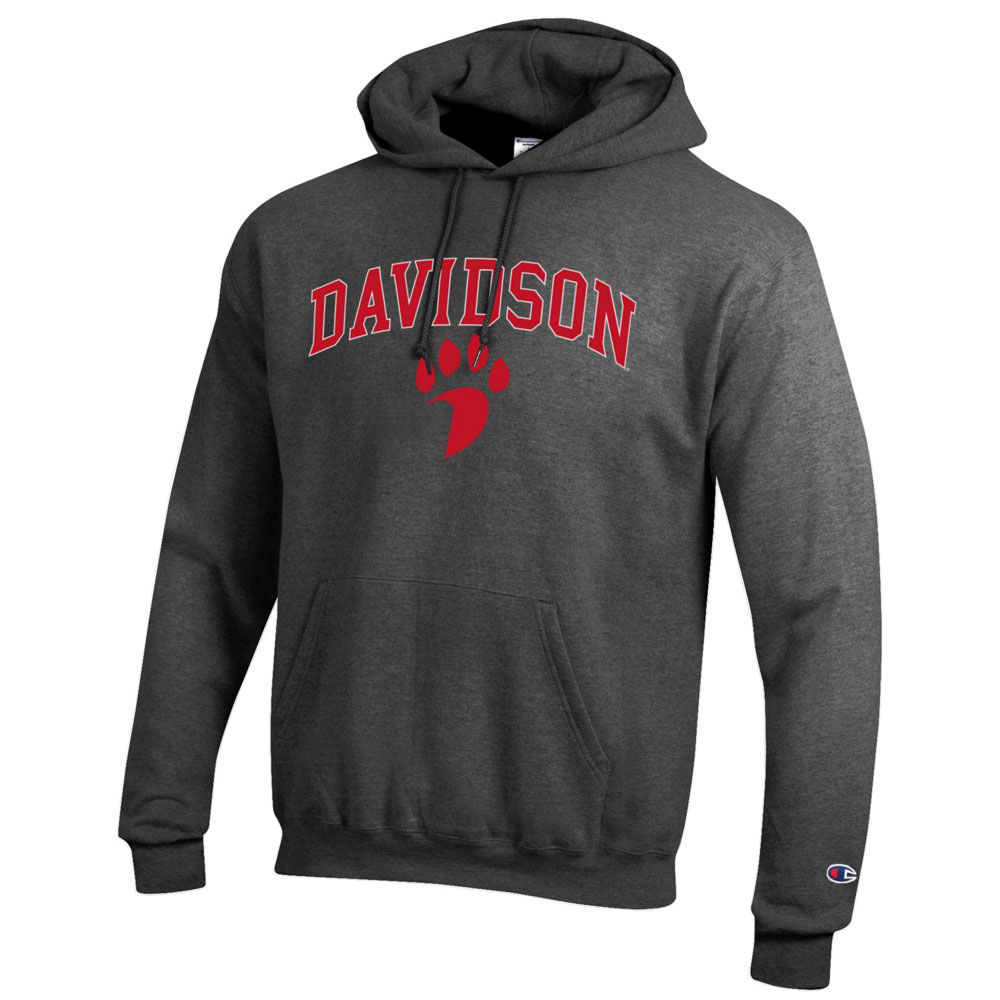 Image For Sweatshirt Hood - Granite Heather - Davidson Over Paw