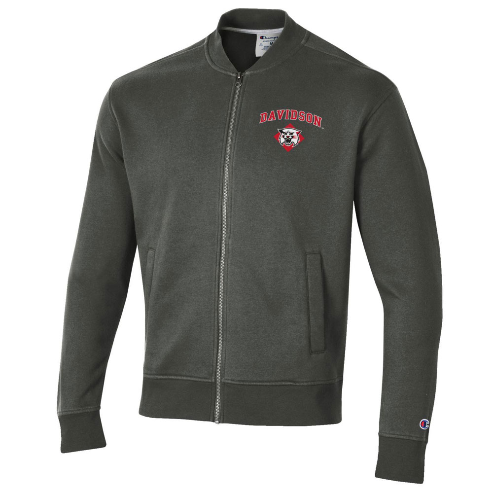 Image For Jacket Full Zip Rochester Fleece Warm Up - Grey