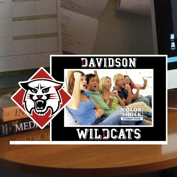 Image For Standee Picture Frame - Wildcat