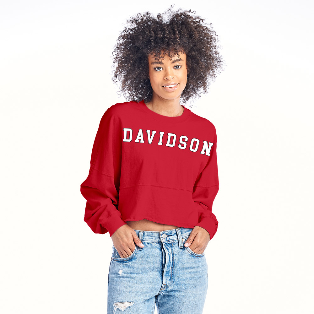 Image For WOMEN'S LONG SLEEVE CROPPED TEE