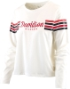 Cover Image for Women's Long Sleeve Crop Jersey Tee - White