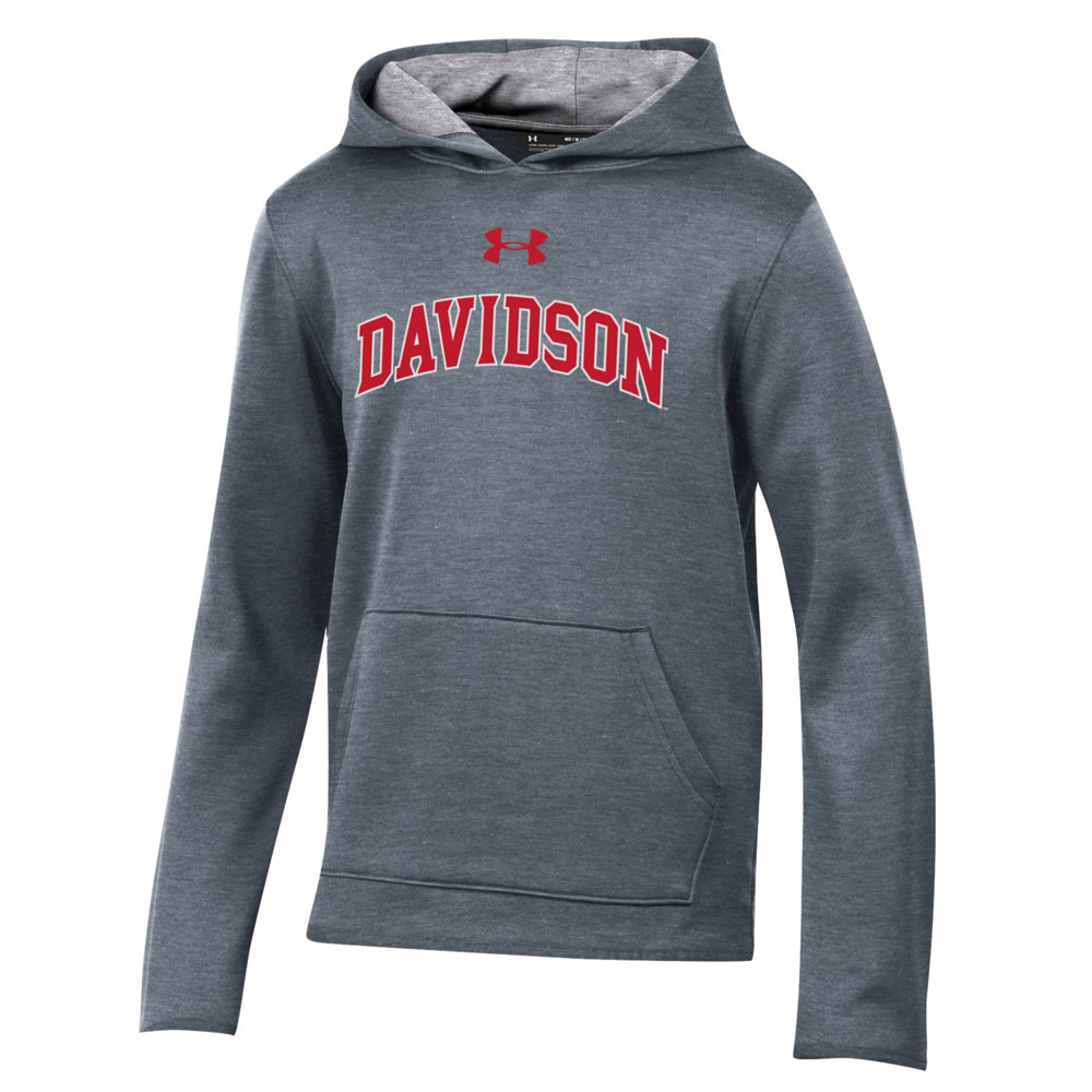 Image For Youth Hood - Carbon Heather - Davidson Arched