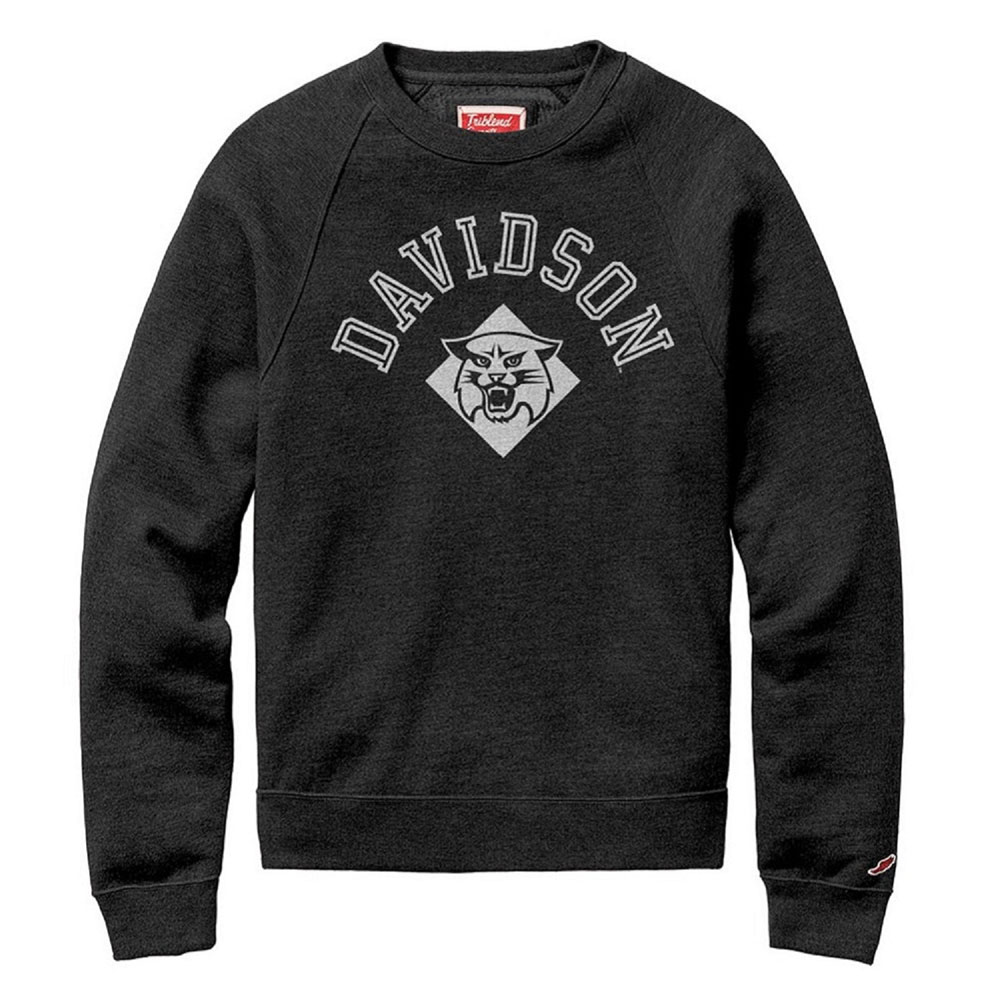 Image For Sweatshirt - Tri-blend Crew - Heather Onyx