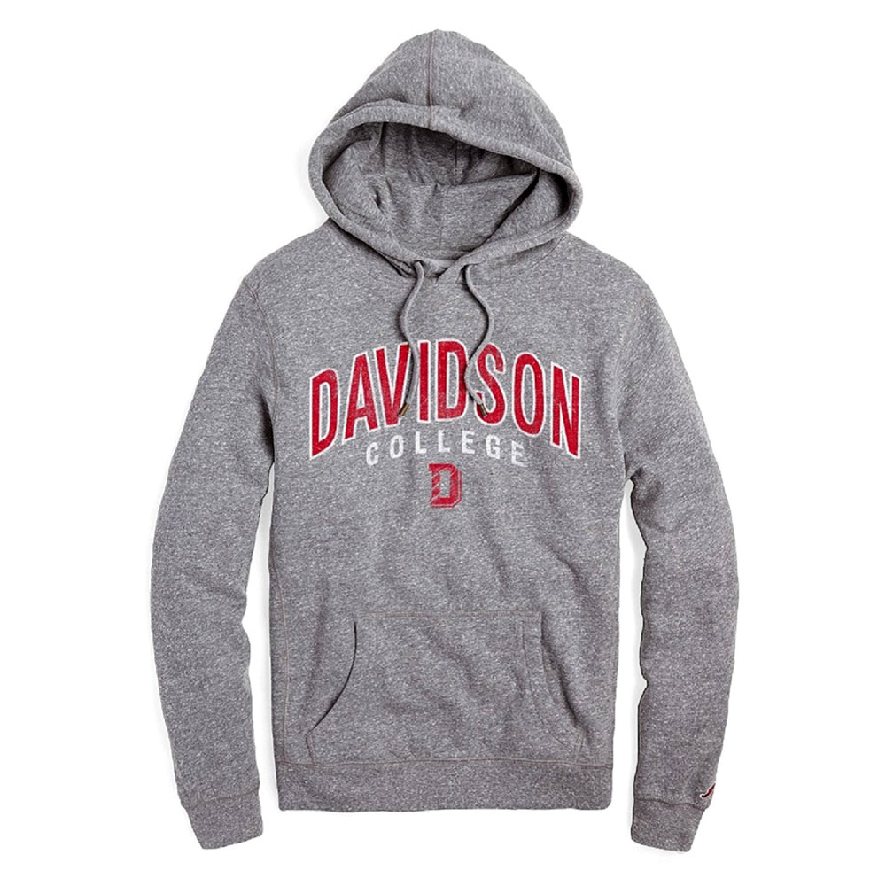 Image For Sweatshirt - Tri-blend Heritage Hood - Fall Heather