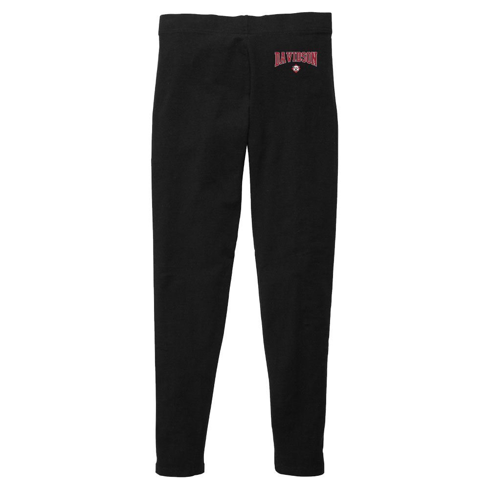 Image For Youth Girls Legging with Wildcat - Black