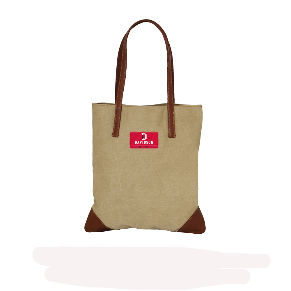 Image For Tote Canvas - Camel
