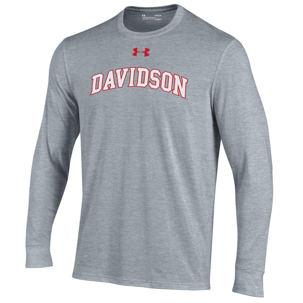Image For YOUTH LONG SLEEVE PERFORMANCE COTTON TEE - GREY HEATHER