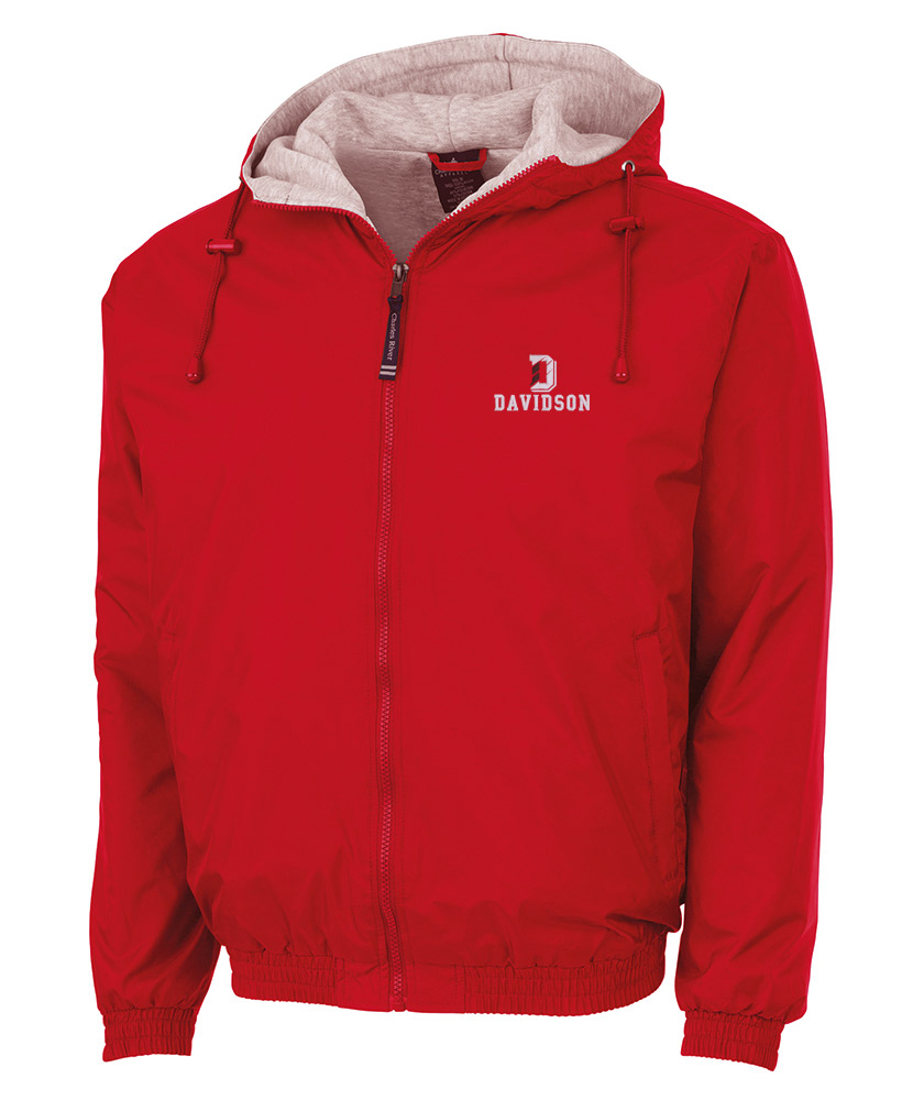 Image For Jacket Full Zip - With Hood - Red
