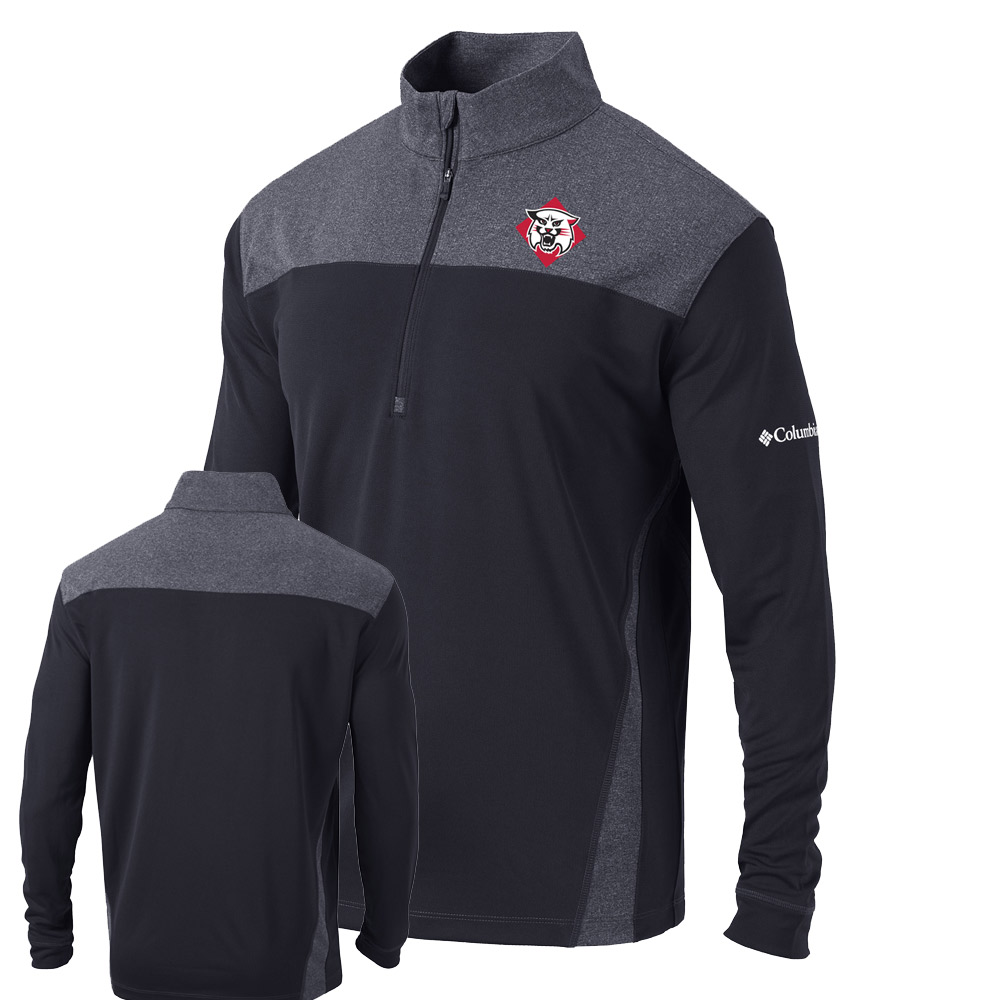 Image For Quarter Zip Standard - Black