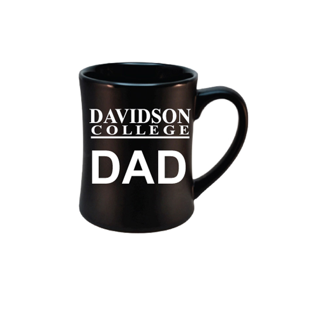 Image For MUG - ETCHED Black - DAVIDSON Dad