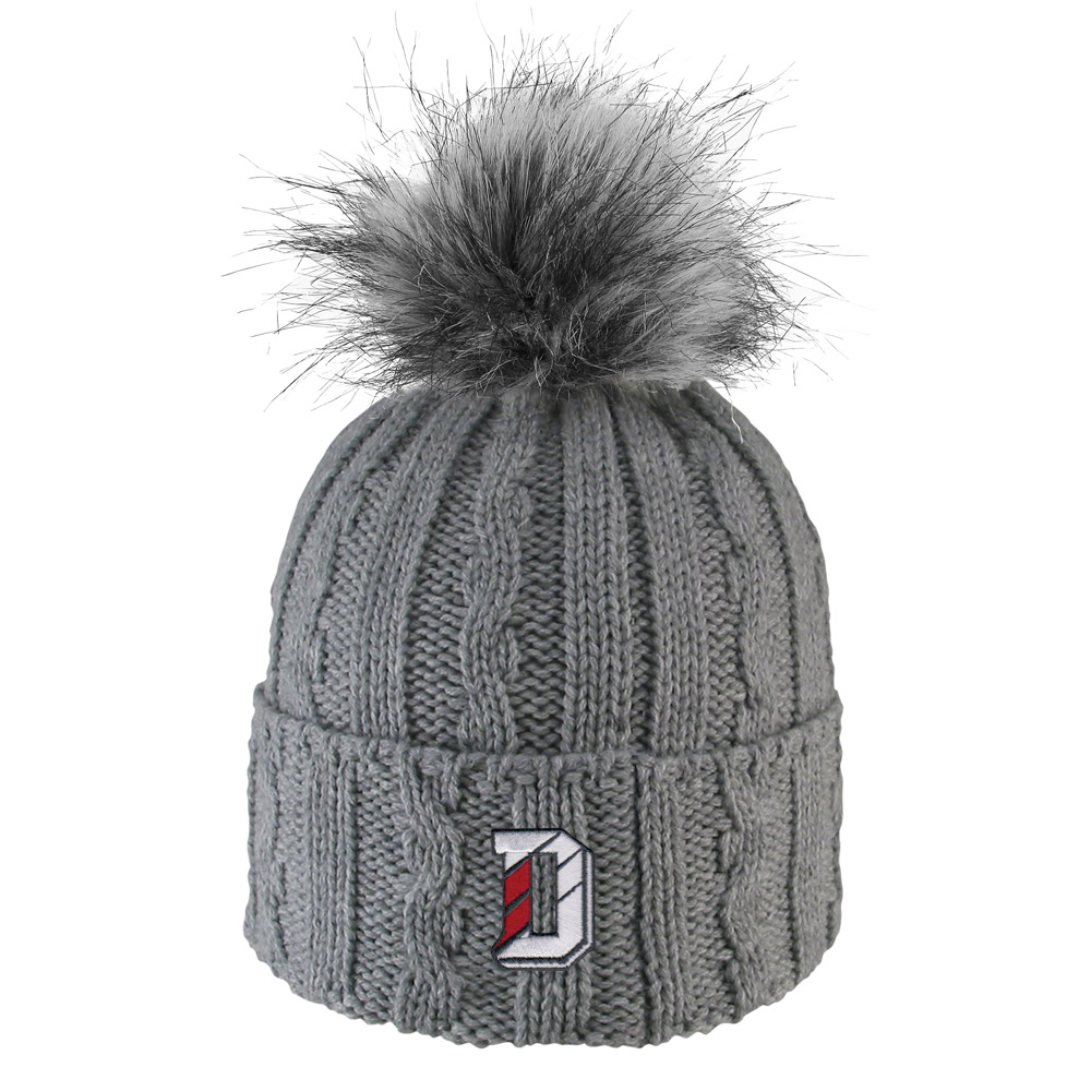 Image For Women's Knit Hat - Grey