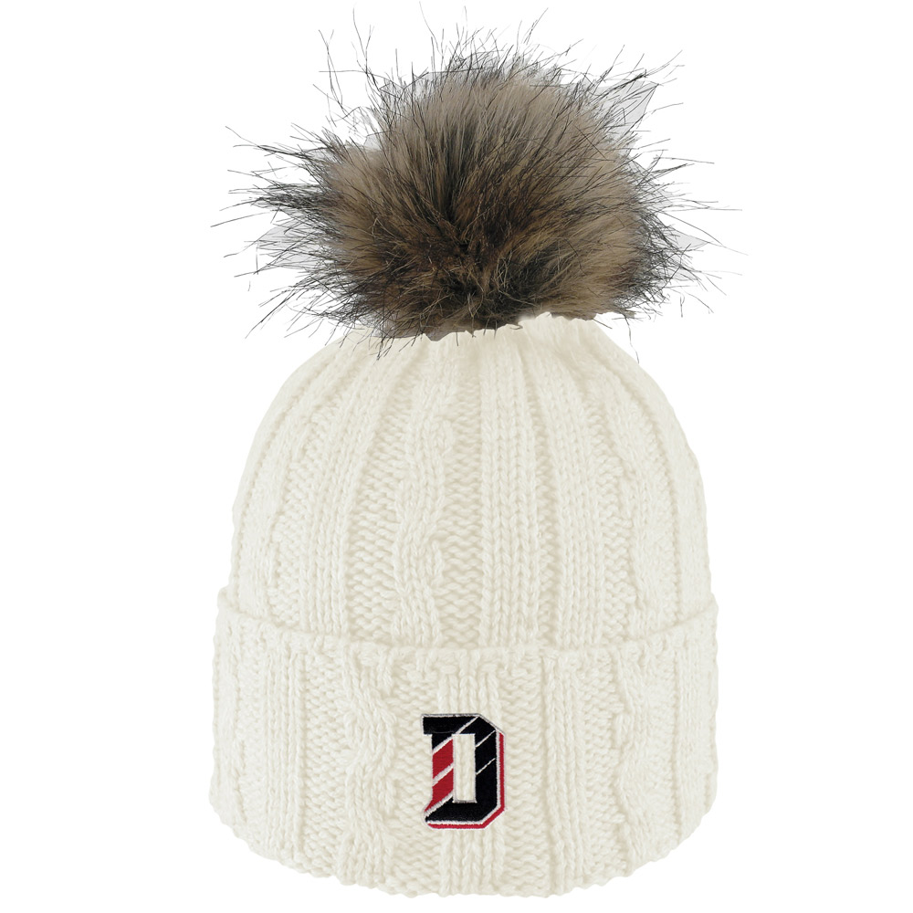 Image For Women's Knit Hat - White