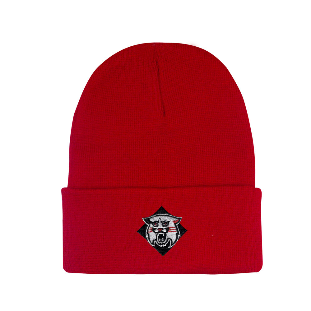 Image For Youth Knit Hat - Red