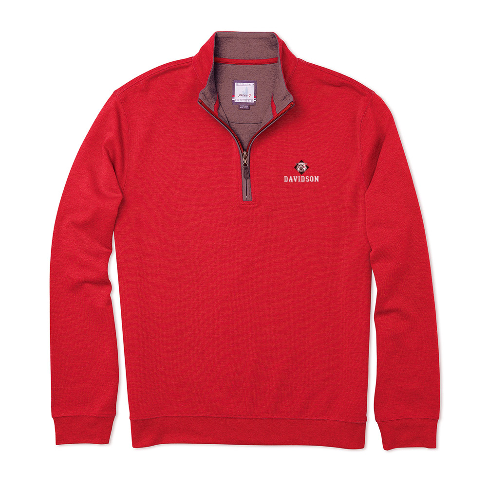 Image For Quarter Zip Sully - Red - Wildcat Over Davidson