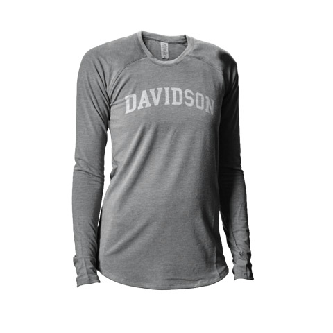 Image For WOMEN'S LONG SLEEVE TEE - Grey