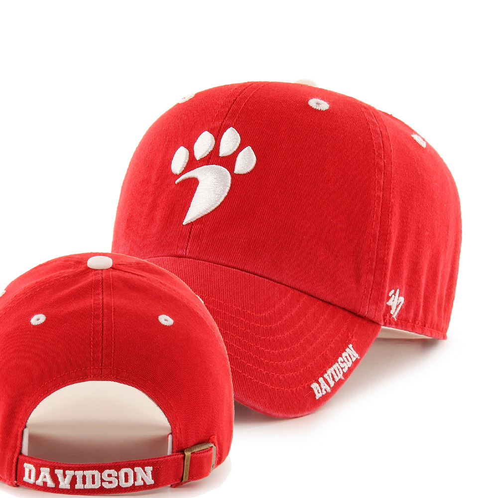 Cover Image For Hat - Ice '47 Clean Up - Red - Paw Logo
