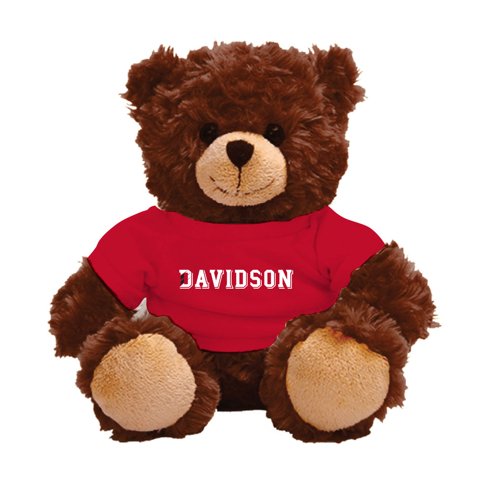 Image For Davidson Bear With Tee - Brown