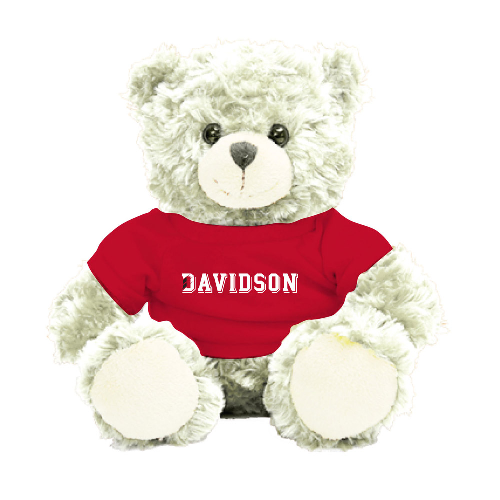 Image For Davidson Bear With Tee - Cream