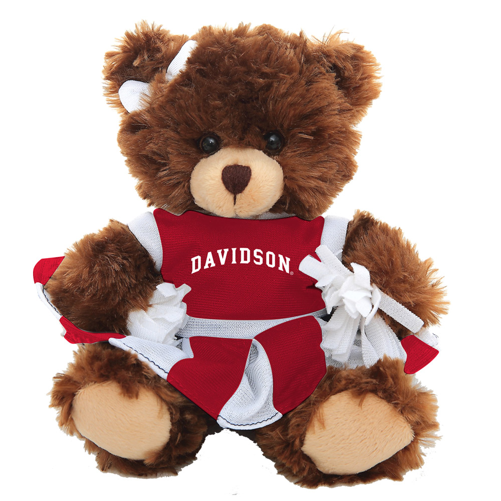 Image For Davidson Cheer Bear - Mocha
