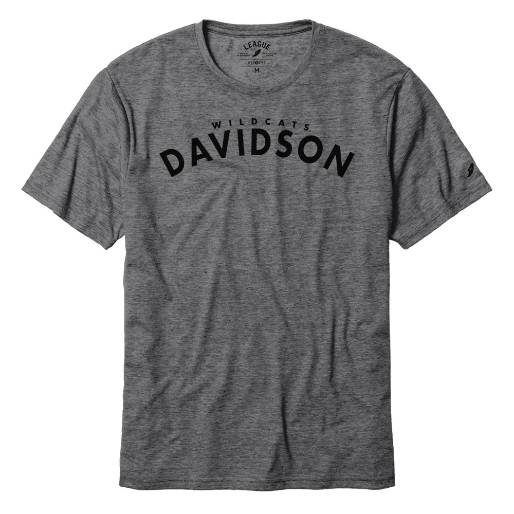 Image For T Shirt Repreve - Graphite - Wildcats Over Davidson