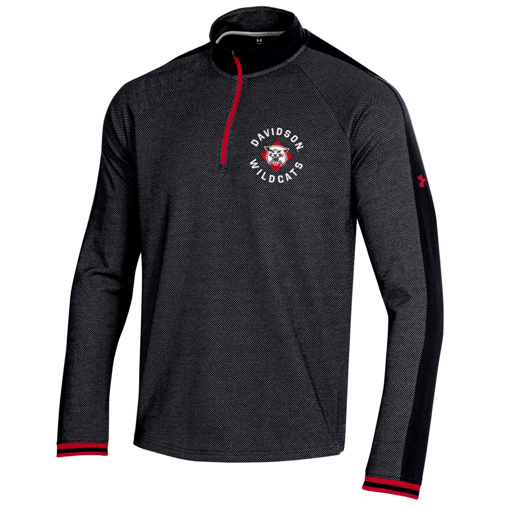 Image For Quarter Zip - Black - Wildcat Logo