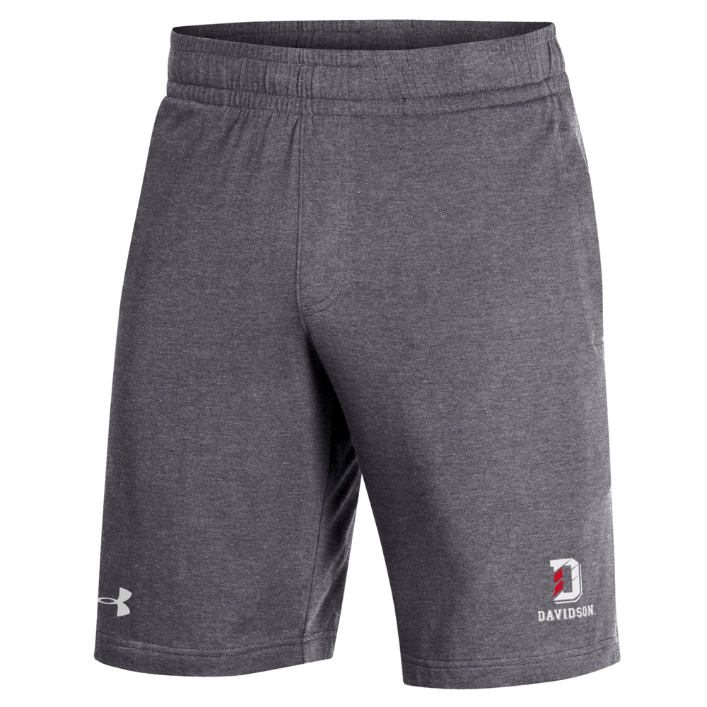 Image For COTTON JERSEY SHORT - CARBON HEATHER