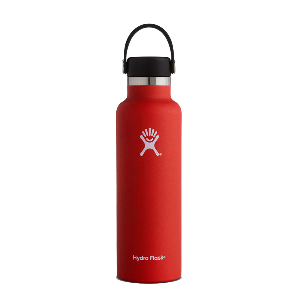 Image For Hydro Flask: 21 oz Standard Mouth - Lychee Red