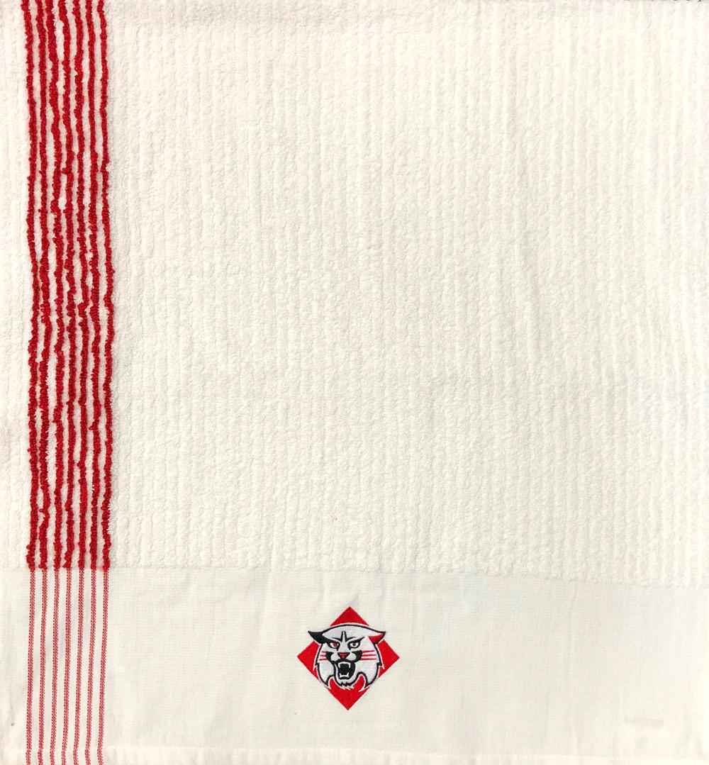 Image For GOLF TOWEL - RED