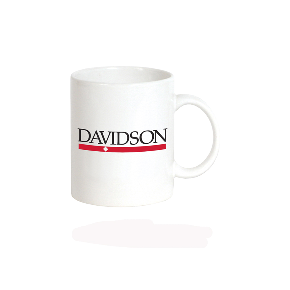 Image For Mug - White - Bar Diamond Logo