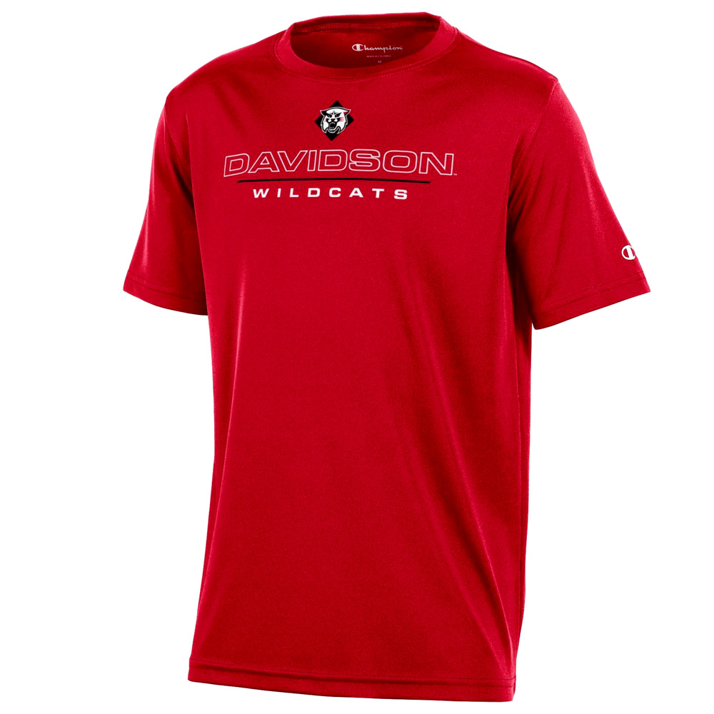 Image For Youth T Shirt Athletic - Red