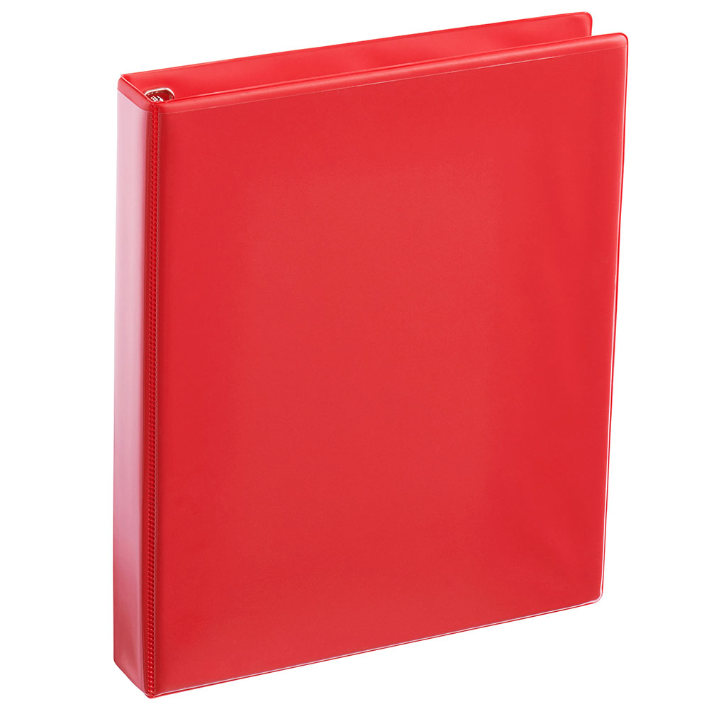 "Image For Binder 1"" Clear View - Red"