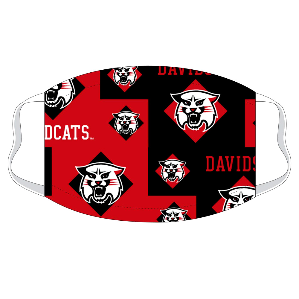 Image For Mask - Red/Black - Davidson Team Mask - S/M